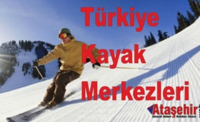 Kayak Merkezleri Tatil İçin Sizleri Bekliyor