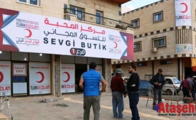 Kızılay, İdlib'te ihtiyaç sahipleri için 2 Sevgi Mağazası daha açıyor