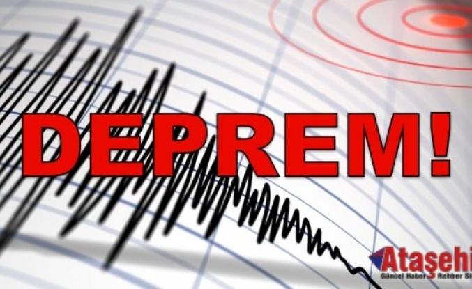 Elazığ'da 5.2 büyüklüğünde deprem