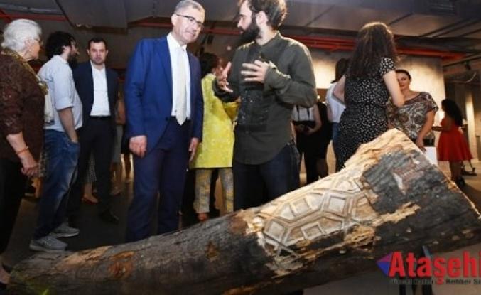 12 sanatçının yer aldığı ''YAZ VAKTİ'' sergisi açıldı