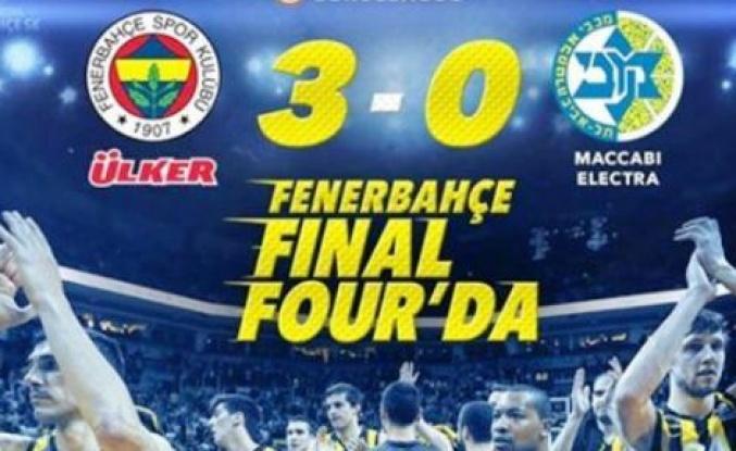 Maccabi Electra 74-75 Fenerbahçe Ülker Finale Yükseldi