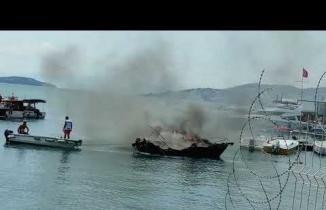 Maltepe Tekne Yangını 26 Temmuz 2021
