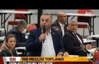 Oğuz Sarul, İBB Meclisinde Beykoz'un Sorunlarını Anlatıyor